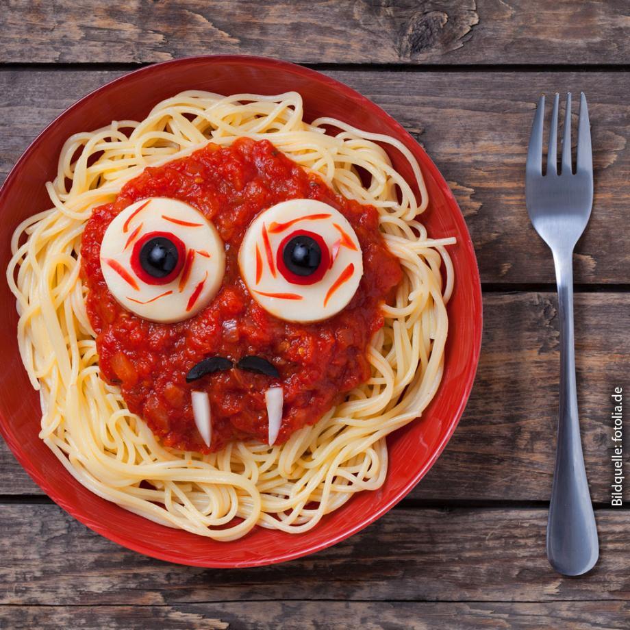 Vegane Spaghetti mit Paprika-Tomatensauce