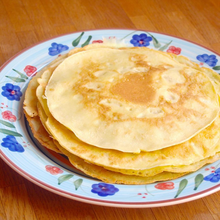 Glutenfreie Kokosmus-Pancakes
