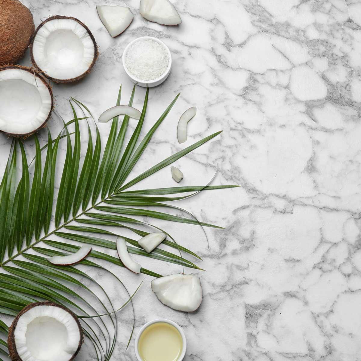Kokosoel anwendungen