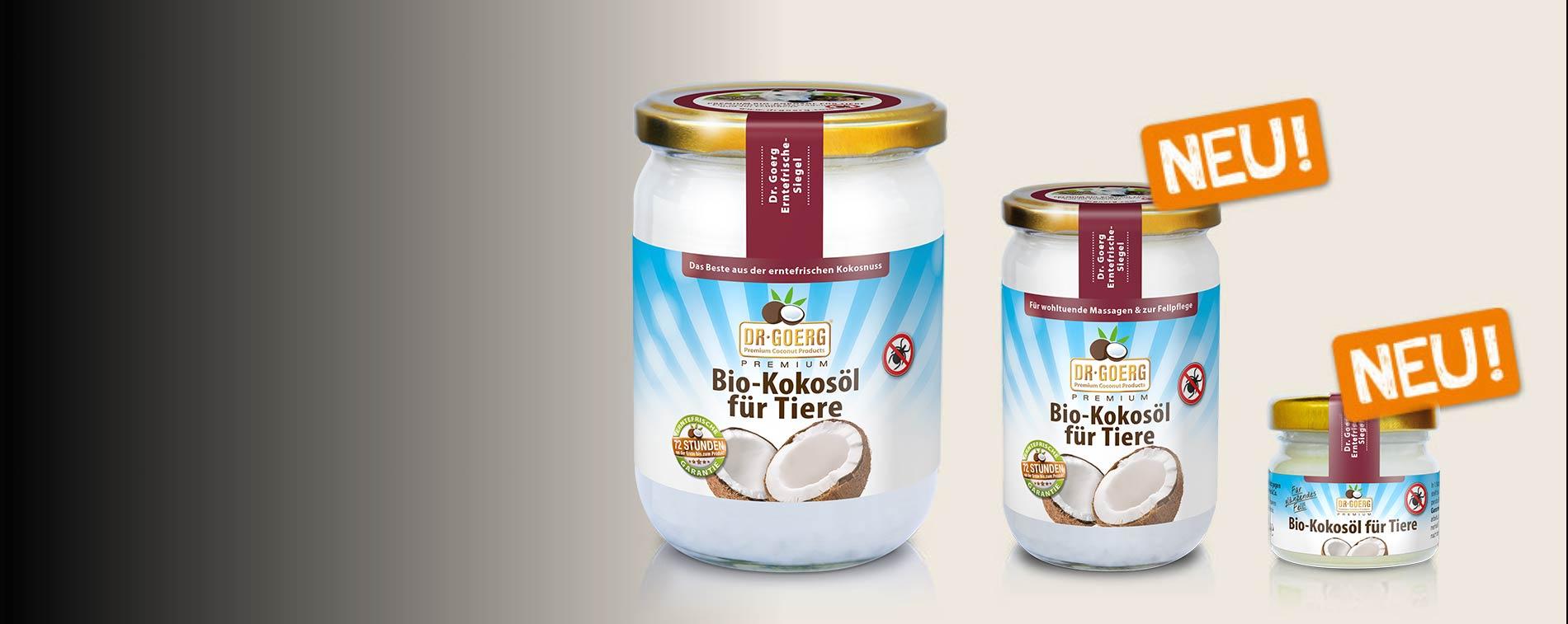Premium Bio-Kokosöl für Tiere
