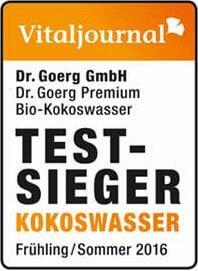 Vitaljournal Test Sieger Kokoswasser