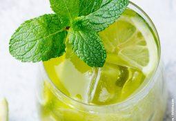 Limonada de Matcha de coco