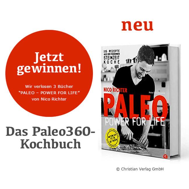 """Kochideen für die moderne Steinzeit-Küche: Das Kochbuch """"Paleo-Power for Life"""" (und Buch-Verlosung)"""