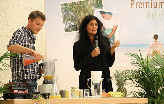 Workshop Britta-Diana Petri - Kokosöl-Smoothies