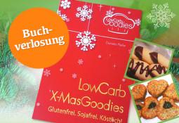 Köstliche LowCarb-Leckereien für die Weihnachtszeit mit Buch-Verlosung