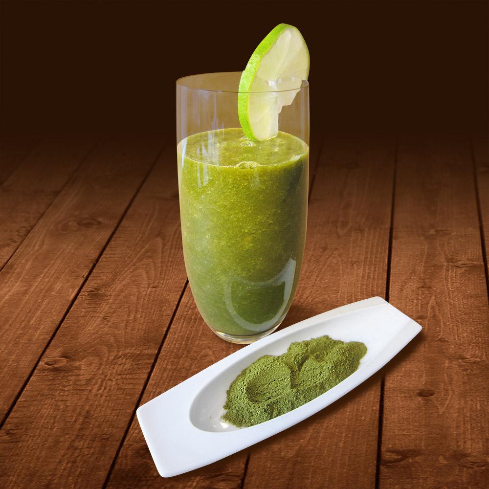 Grüner Vital-Smoothie mit Moringa