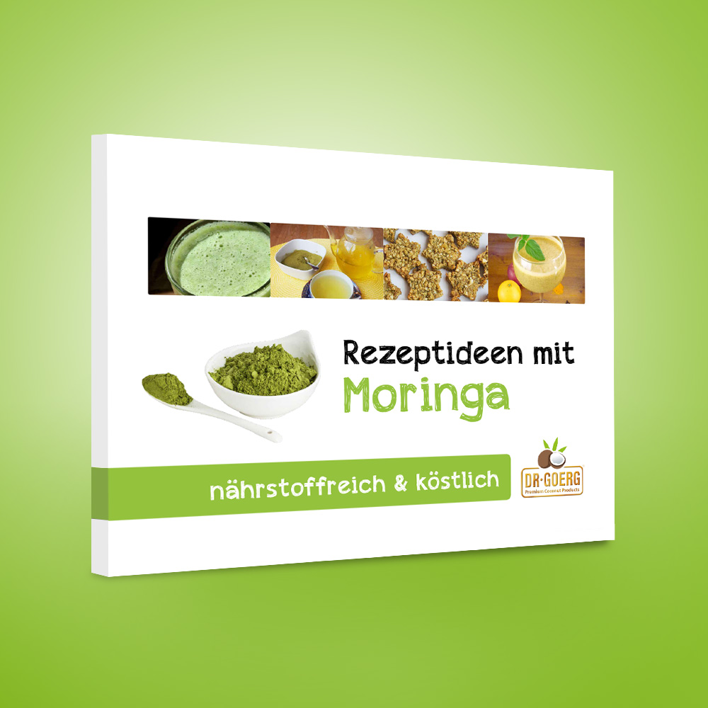 Rezeptideen mit Moringa - Rezeptbuch von Dr. Goerg