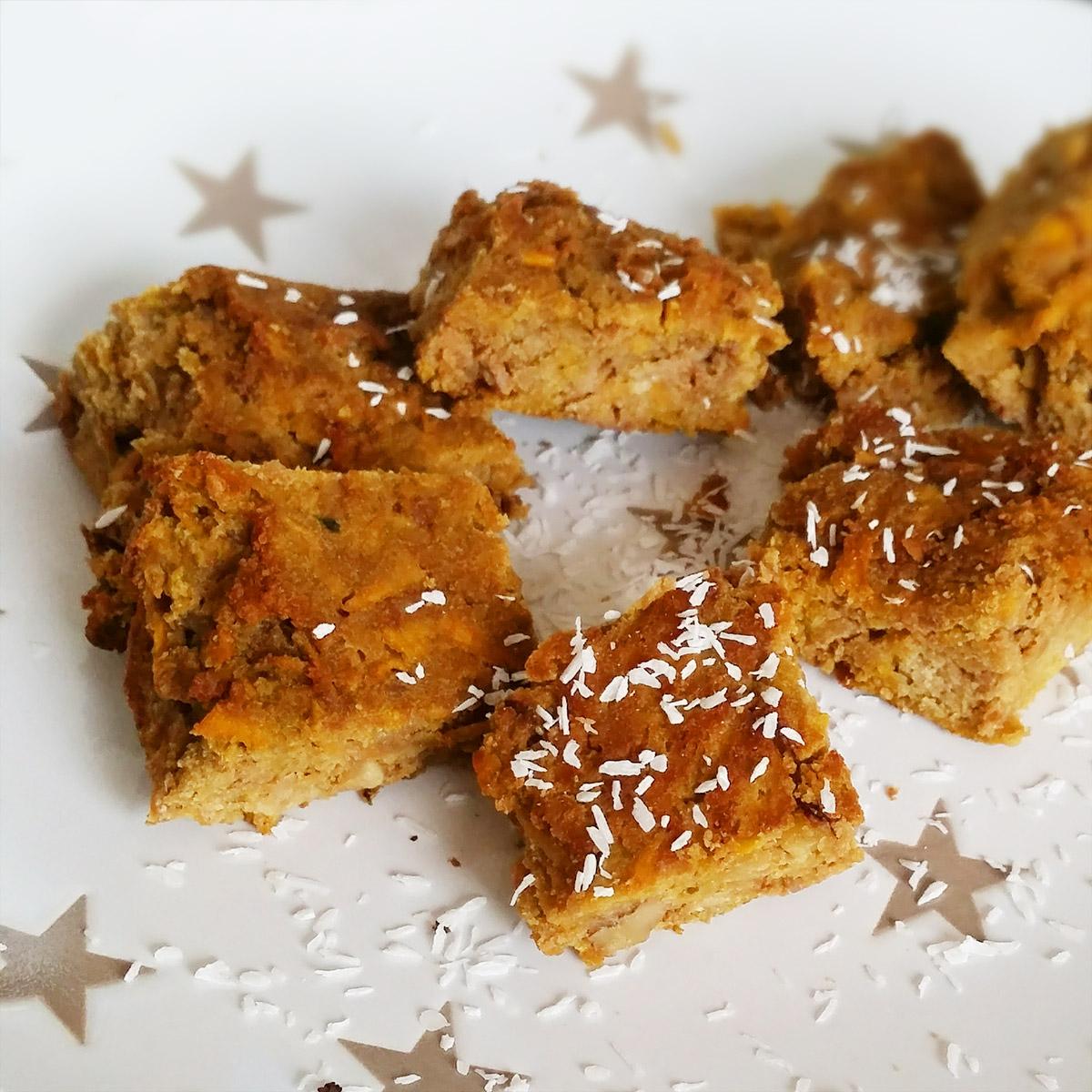 Susskartoffel Kokos Kuchen