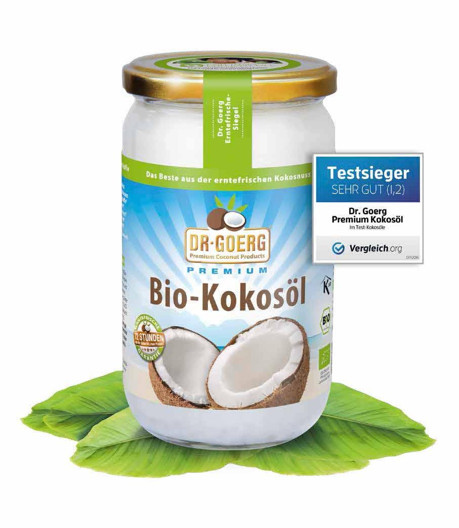 Beste Kokosöl Test