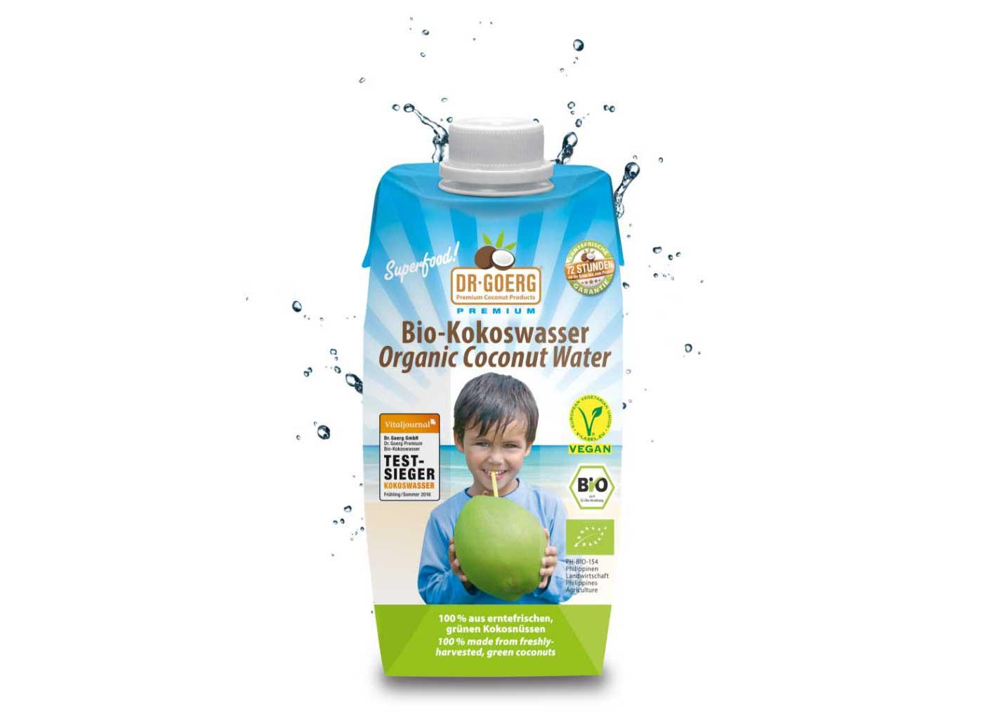 Kokoswasser zur Gewichtsreduktion