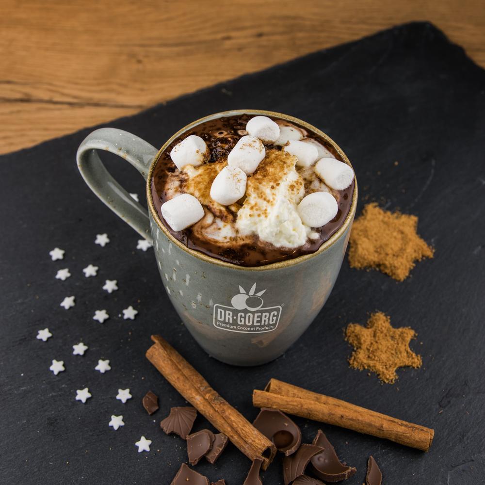 Heiße Kokos-Schokolade