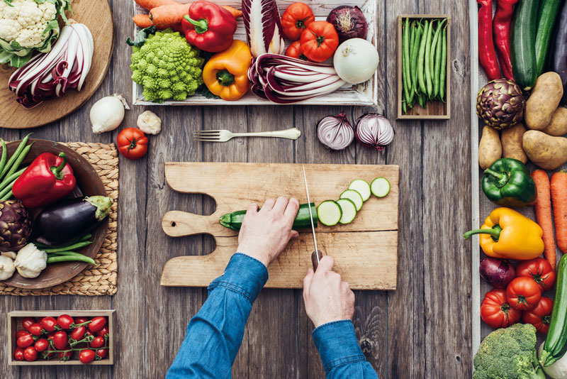 Symbolbild: Gesund kochen