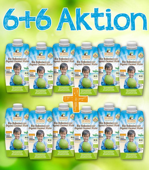 6+6 Kokoswasser-Aktion 01