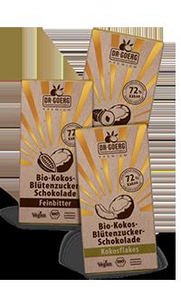 Dr. Goerg Kokosblütenzucker Schokolade