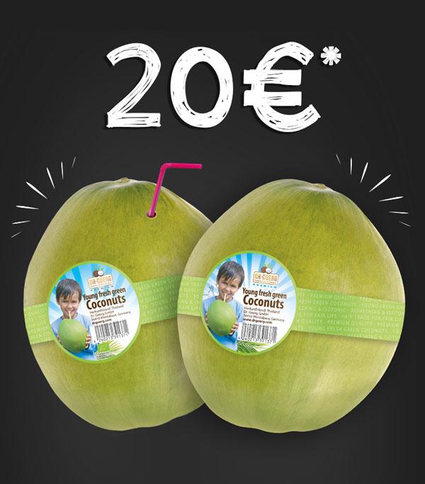 Kokosnüsse 20 €