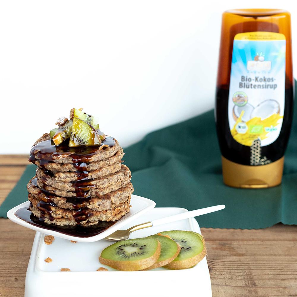 Vegane Bananen-Pancakes