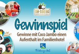 Gewinne mit Coco Jambo einen Mini-Urlaub für die ganze Familie