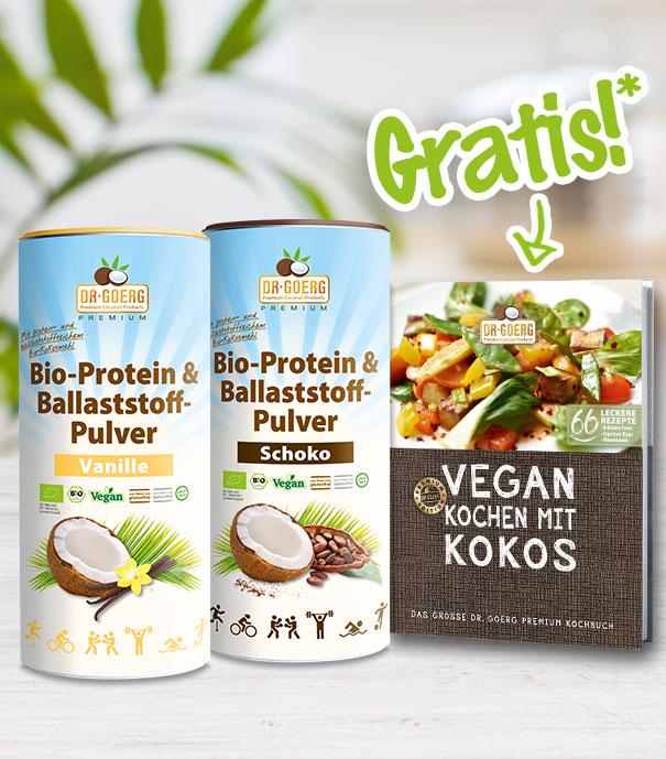 Proteinpulver + Buch 01