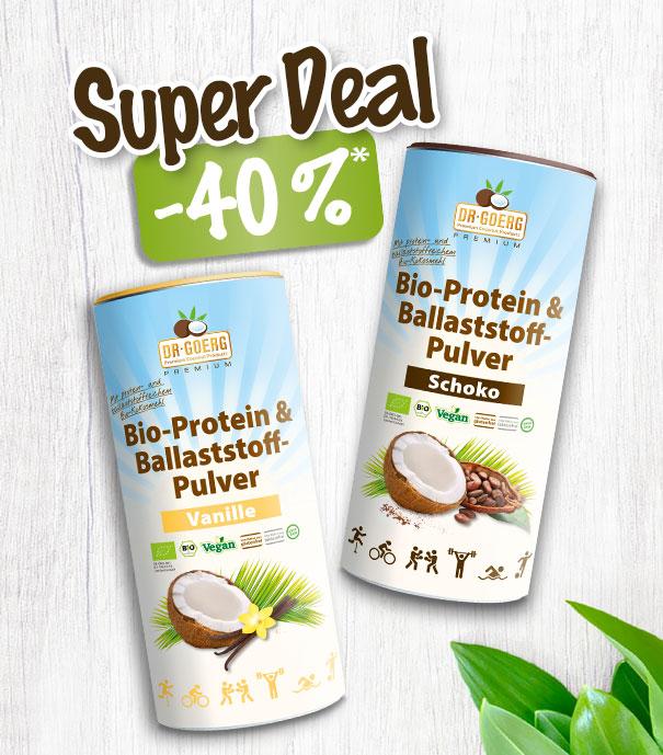 Proteinpulver -40 %
