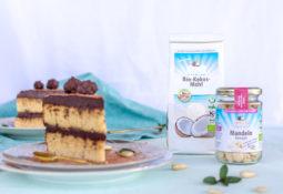 Low Carb Zucchini Torte mit Schoko-Ganache