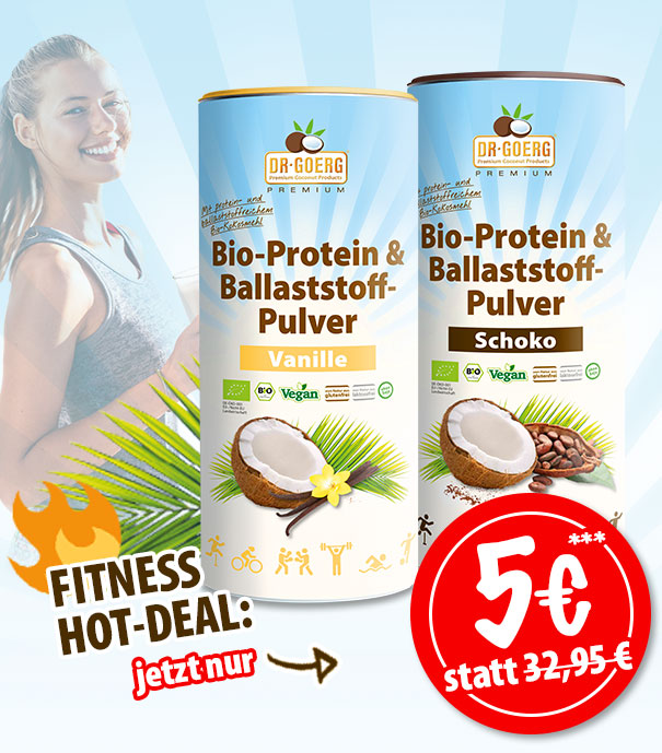 Fitness Hot Deal: 5€ Sofortrabatt