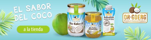 Premium Bio Kokosnussprodukte | Dr. Goerg